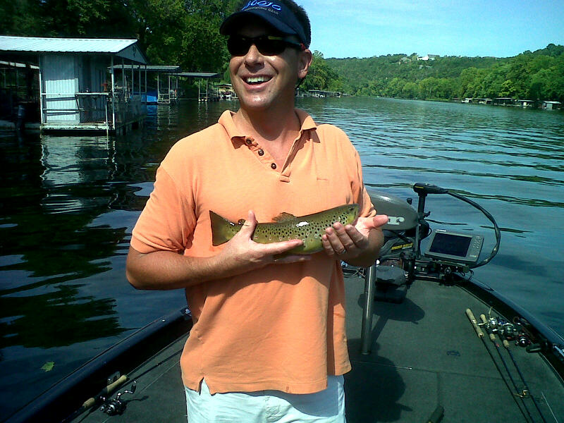 Branson fishing guide taneycomo trout focused fishing for Branson trout fishing