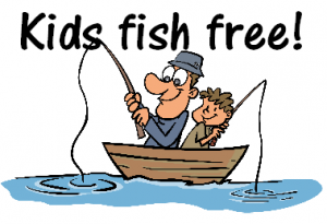 Kids fish for free branson fishing guide service for Do kids need a fishing license