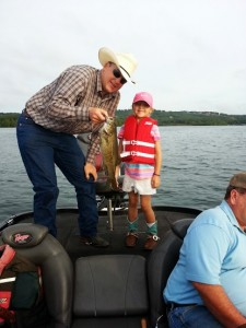 Branson Fishing guide table rock lake