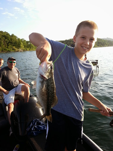 Branson fishing guide table rock lake fishng report for Branson fishing guide