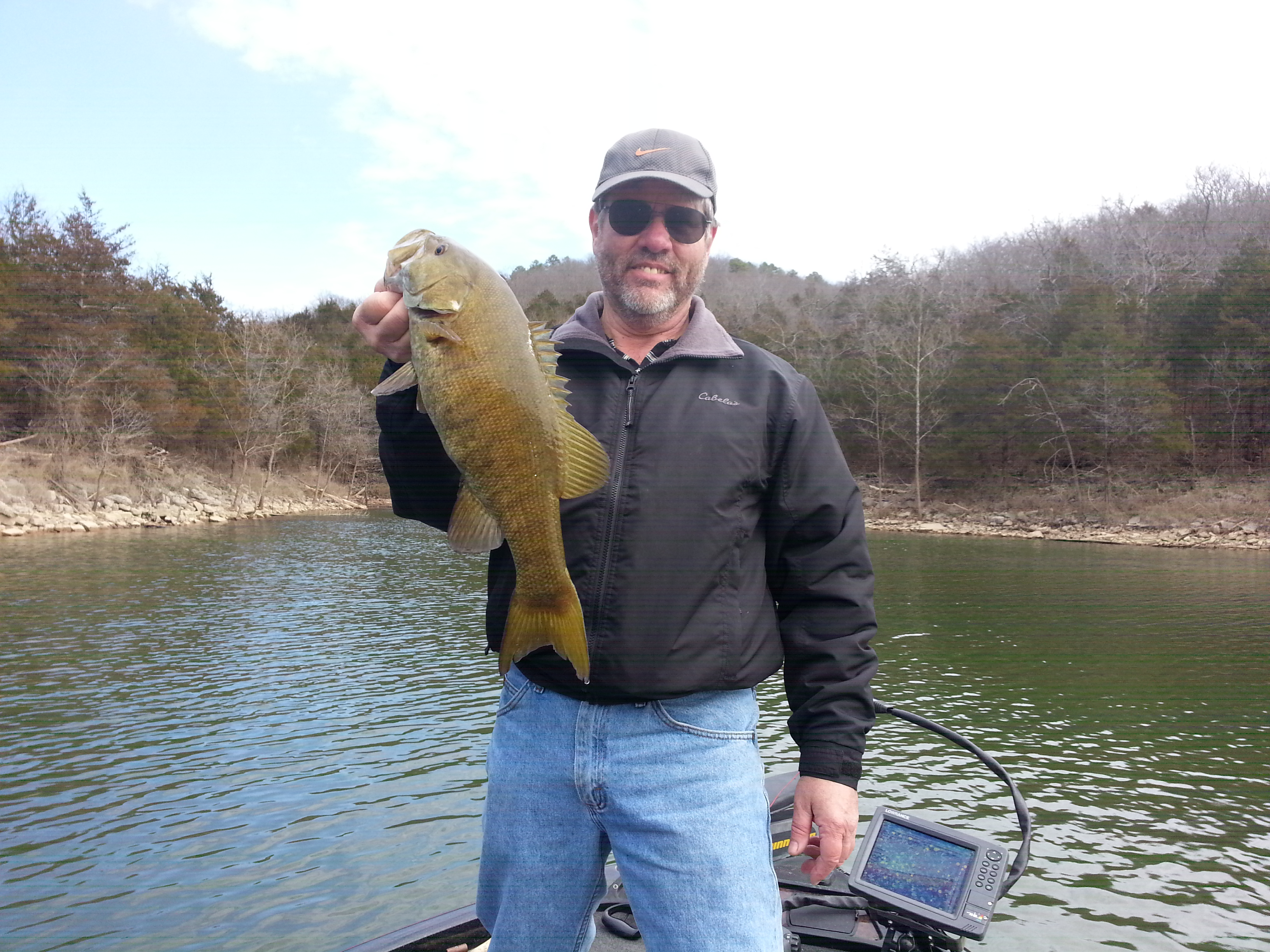 Branson fishing guide table rock lake video report for Table rock lake fishing guide