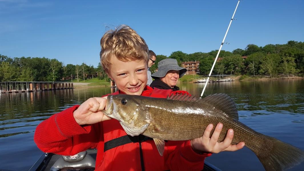 Branson fishing guide table rock lake fishing report for Branson trout fishing