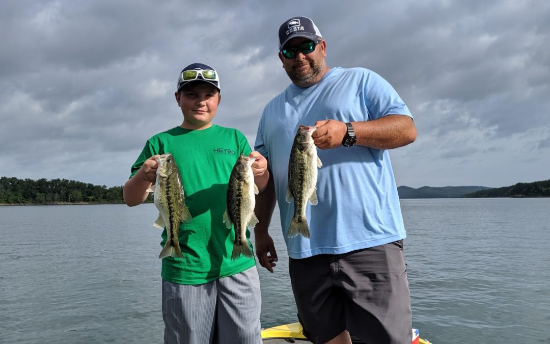 Branson Fishing Guide Table Rock lake video fishing report