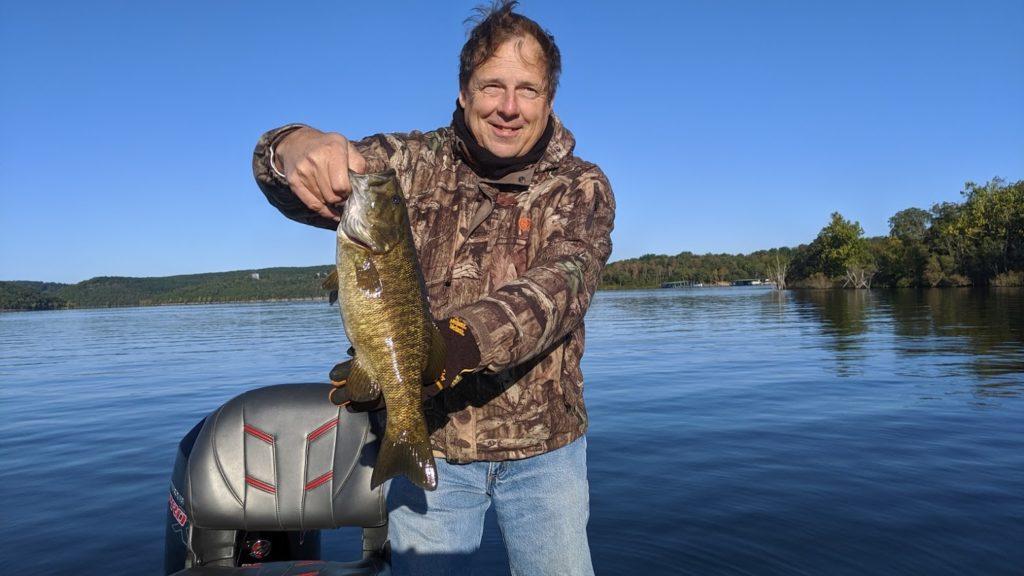 fishing guide on table rock lake