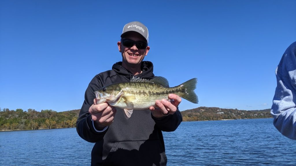 Fishing guide on table rock lake