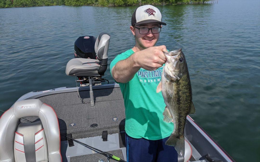 Branson Fishing Guide Table Rock Lake video fishing report 7/7/20