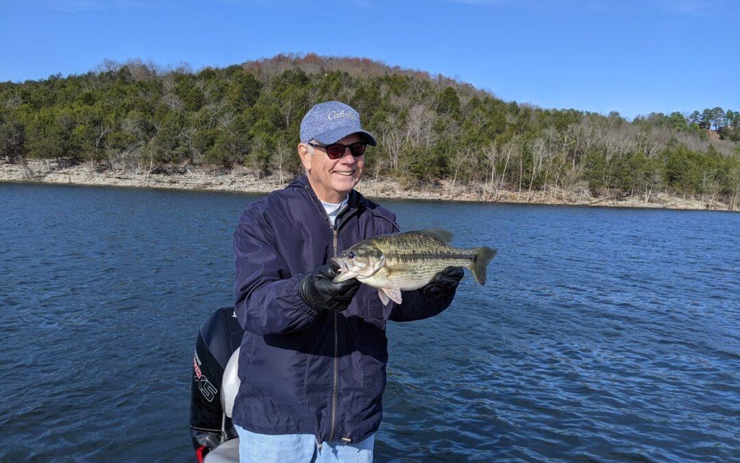 Branson Fishing Guide Table Rock Lake video fishing report 11/24/20