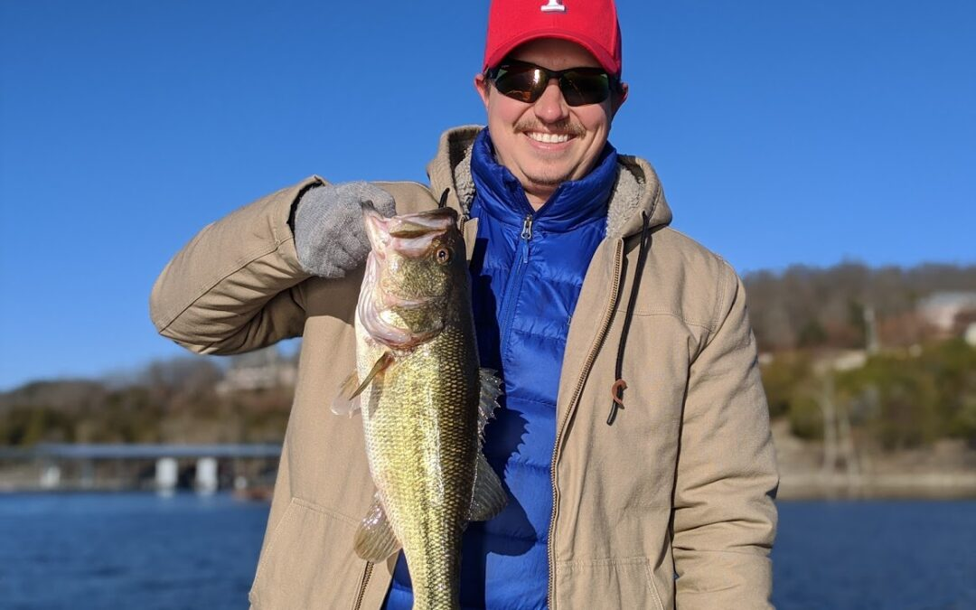 Branson Fishing Guide Table Rock Lake video fishing report 1/4/20