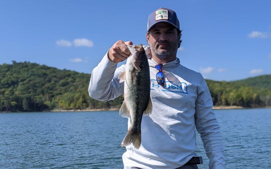 Branson Fishing Guide Table Rock Lake video fishing report 9/22/21