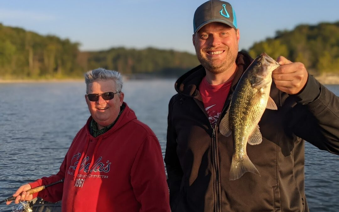 Branson Fishing Guide Table Rock Lake video fishing report 9/30/21