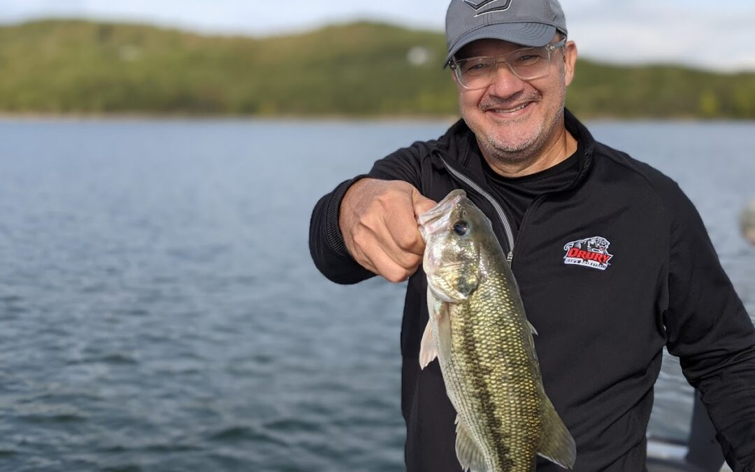 Branson Fishing Guide Table Rock Lake video fishing report 10/7/21